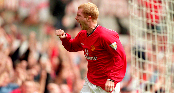 Paul Scoles Manchester United